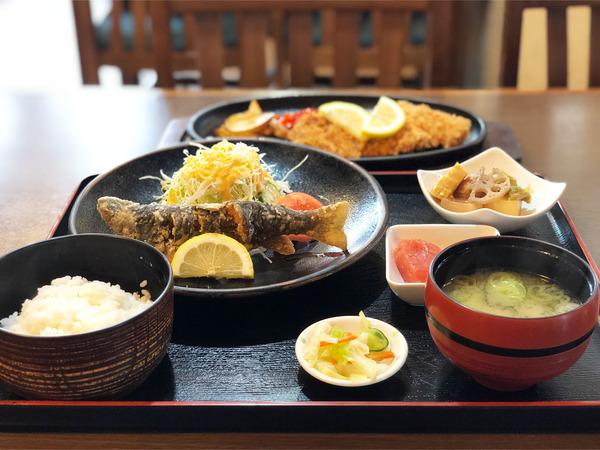 01我が町の将軍定食(1700円)