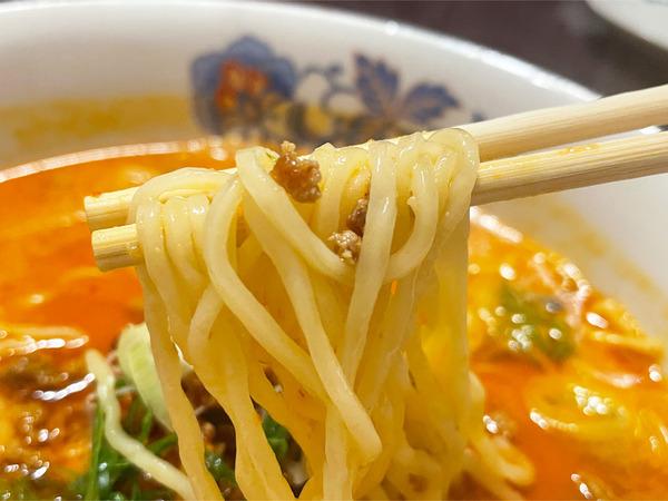 07四川担々麺(880円)麺