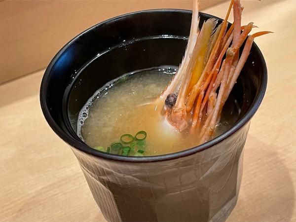 04海老頭のお味噌汁