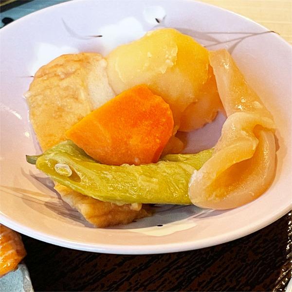07丸天とジャガイモの煮付け