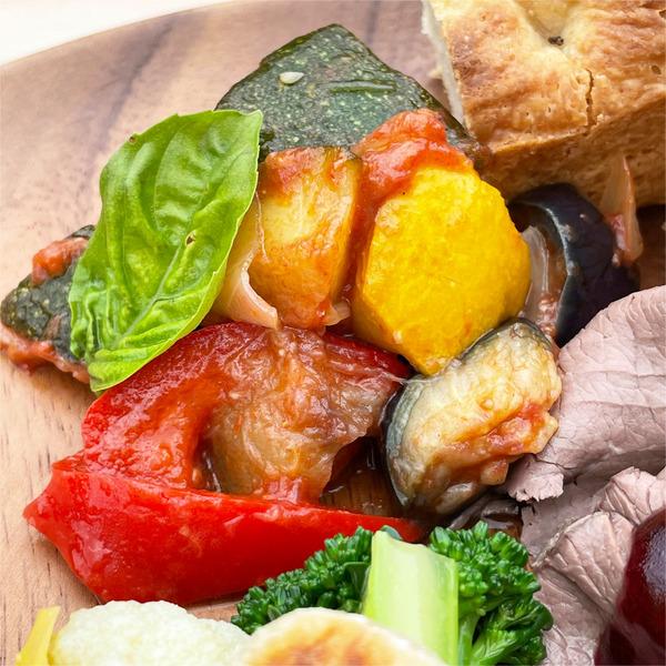 03夏野菜のカポナータ(100g・400円)