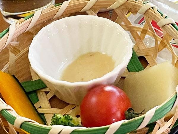 13温野菜のバーニャカウダ