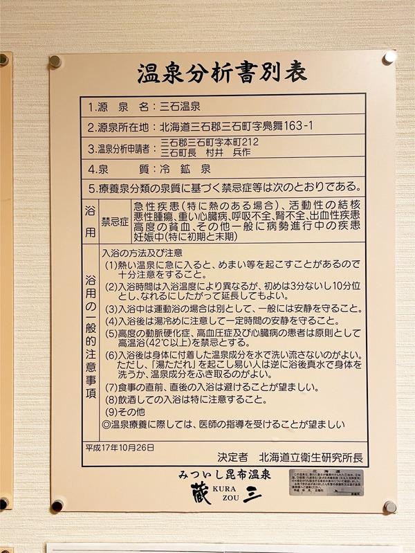 11温泉分析書別表