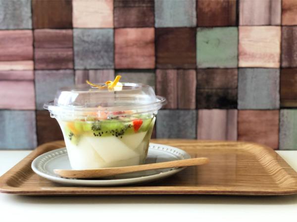 01鮮果豆腐(360円)