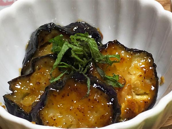 04ナスの柚子味噌