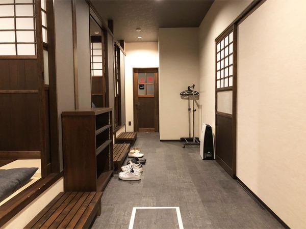 23個室3部屋と奥には喫煙室