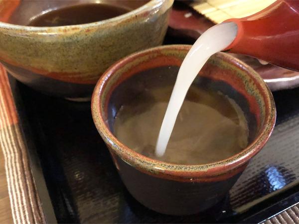 08蕎麦湯