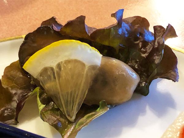 03厚岸産牡蠣の香油風漬け