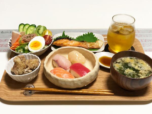01手毬寿司になっちゃった定食