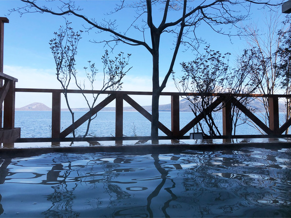 28展望露天風呂からの眺め