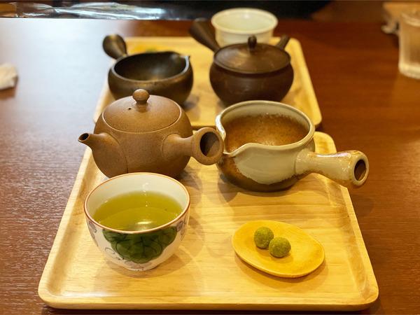 02〆の日本茶