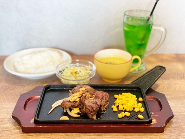01カットステーキランチ・ヒレ150g(1650円)