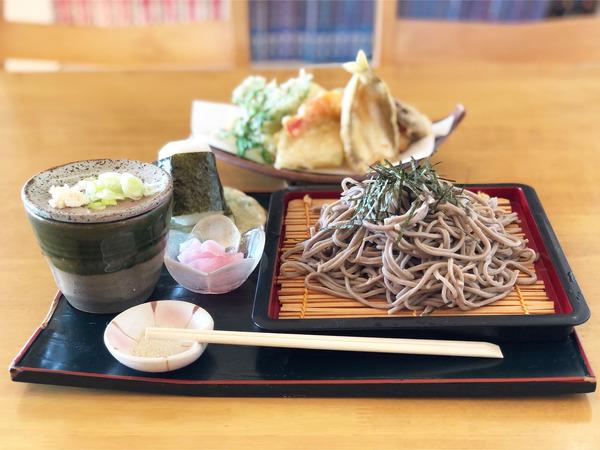 01蕎麦セット・ざる(1100円)