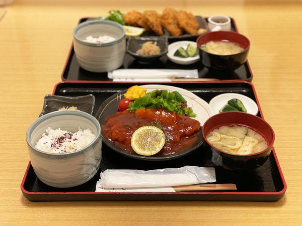 01ポークチャップ定食(900円)