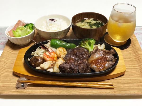 01焼肉定食
