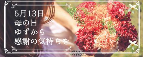 かぐらの里 母の日限定 柚子ギフト