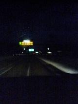 休日冬の高速