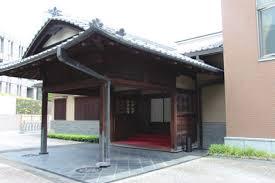 香川邸玄関