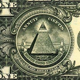 1ドル札のピラミッド