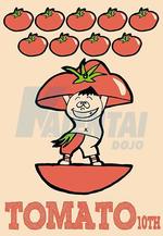 トマト10thシャツ