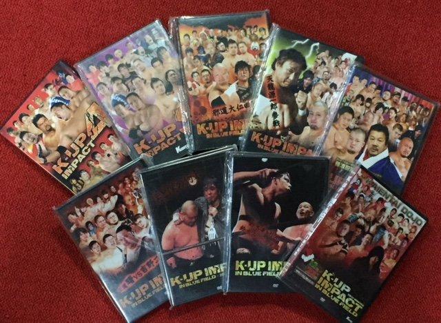 K-UP IMPACT DVD