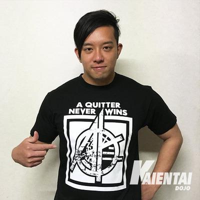 吉田綾斗Tシャツ黒