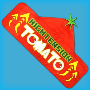 トマトフードタオル