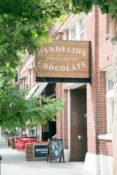 【サンフランシスコカフェ】甘いもので一休み。ダンデライオンチョコレート