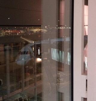 シンガポール--日本航空「JL035」便、B787のビジネスクラス