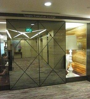 シンガポール--シェラトンホテルのエグゼクティブラウンジ