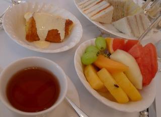 1泊3日、シンガポールの旅  - ラッフルズ・ホテル・シンガポール(Raffles Hotel)のティフィン・ルーム(Tiffin Room)のハイティー
