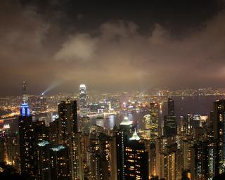 羽田発香港の旅 - 香港名物「ビクトリア・ピーク(百万ドルの夜景)」