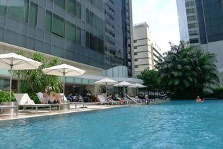 セントレジスシンガポールのプール