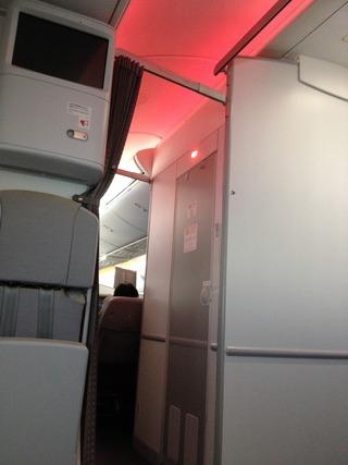 1泊3日、シンガポールの旅  - 日本航空のJAL712便-B787-8