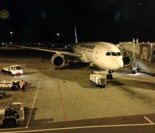 24回目のシンガポール--日本航空「JL710」便