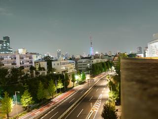 中秋の名月・東京タワー
