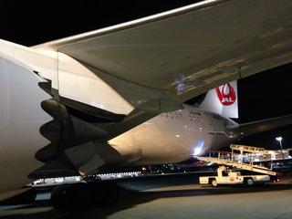 24回目のシンガポール--日本航空「JL035」便