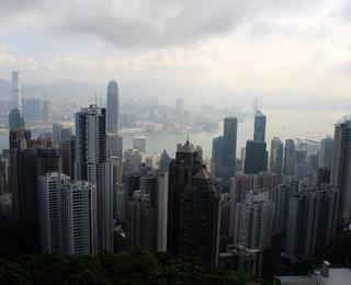 羽田発香港の旅 - 香港名物「ヴィクトリア・ピーク(百万ドルの夜景)」