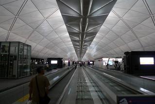 羽田発香港の旅 - 香港国際空港(Hong Kong International Airport、Chek Lap Kok International Airport)