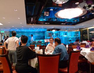 羽田発香港の旅 - 香港「煌城」でアワビ、フカヒレ、燕の巣を食す!
