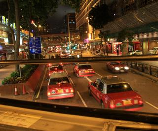 羽田発香港の旅 - 二階建てバス観光