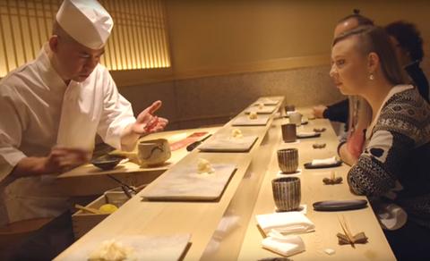日本の寿司作りに対する海外の反応