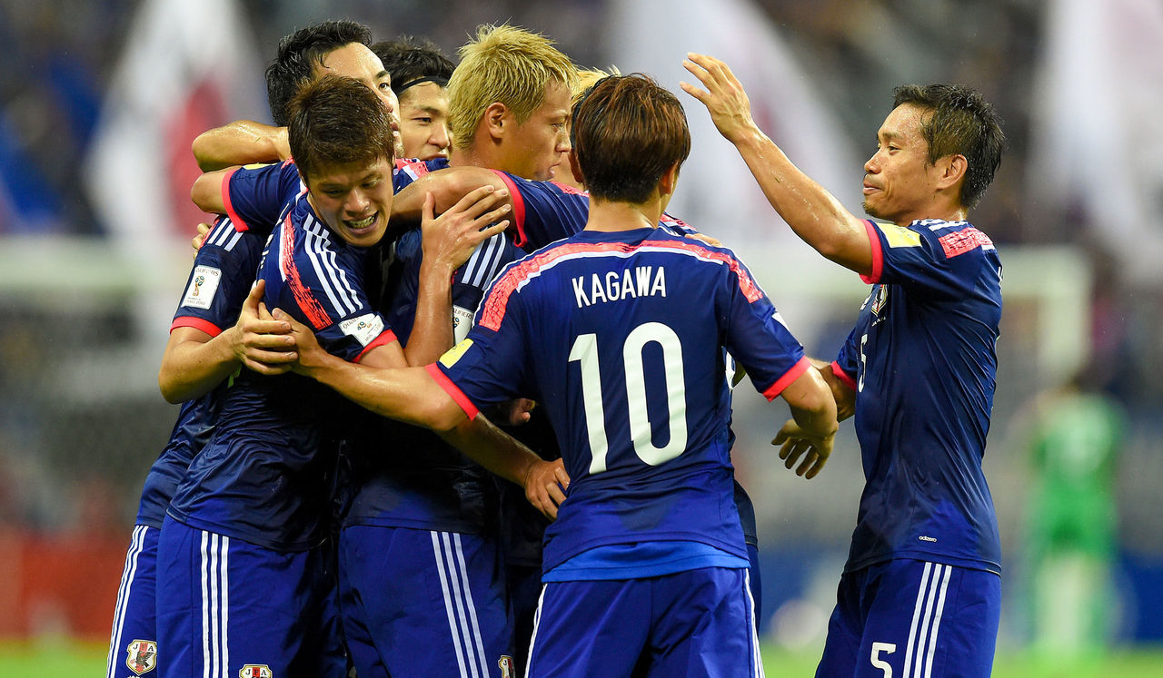 日本が格下のカンボジア相手に3-...