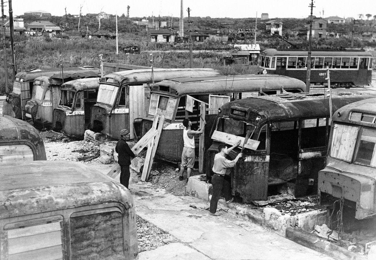 1946年に東京で撮影されたバスの住宅(海外の反応) : 海外のお前ら ...