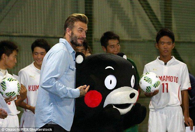 ベッカムが10年ぶりに日本へ、イベントに参加(海外の反応)