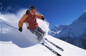 飛んでる!恐怖のスキー映像がやばすぎるw【海外の反応】