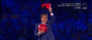 五輪閉会式に安倍総理がマリオで登場【海外の反応】