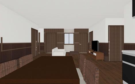 4階 居間食堂