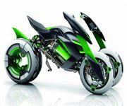 カワサキがタイムマシン実現、未来からバイクを盗ってくる