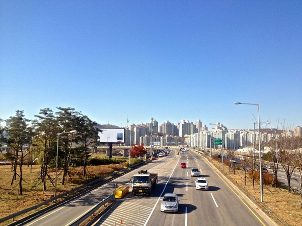 韓国の街角の風景-43